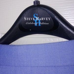 STEVE HARVEY Suits & Blazers - STEVE HARVEY 2 PIECE BLUE 60 REG / 55 WAIST SUIT